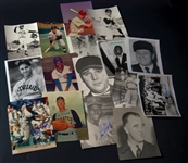 Baseball Hall of Fame Signed 8x10 Photos – 16 Different A - C