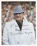 Paul Bear Bryant Signed 8x10 Photo Alabama Crimson Tide