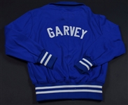 Circa 1981 Steve Garvey Signed Game Issued Worn Los Angeles Dodgers Jacket