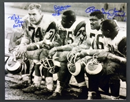 "Los Angeles Rams ""Fearsome Foursome"" Signed 16x20 Photo"