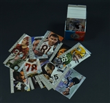 Ron Mix Football HOF Signature Series Platinum Edition set of signed cards Set of 116