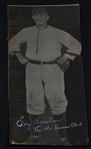 Roy Brashear Signed Oversized Photo D.1951 Turn of the Century Ballplayer