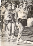 Steve Prefontaine wins 1971 AAU 3 Mile Race Against Frank Shorter TYPE I original Photo