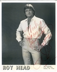 "Roy Head Signed Photo ""Treat Her Right"" RARE"