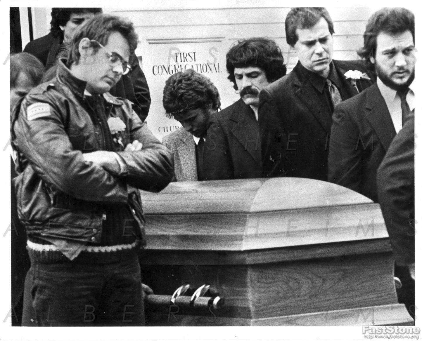 Item Detail - 1982 John Belushi Funeral – Dan Aykroyd ...
