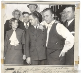 "1934 JOHN DILLINGER, ""Captured in Crown Point Jail"" Iconic Original TYPE I Photo"