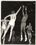 1970-71 Memphis Pros vs NY Nets ABA Basketball Type I Original Photo Rick Barry