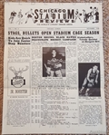 1948 Chicago Stadium Review Newsletter Volume 1 No. 2 – Stags Basketball BAA Schedule