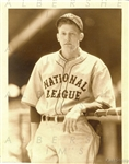 1933 National League All-Star Lon Warneke Official George Burke TYPE I photo