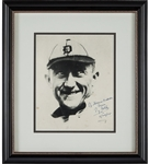 Ty Cobb Signed Autographed 8x10 Photo – The Georgia Peach