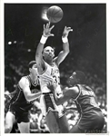 1989 Kareem Abdul Jabbar Lakers vs. Joe Dumars Detroit Pistons Original Photo