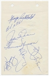 Thurman Munson Pre-Rookie 1969 Yankees Signed Album Page