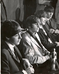 1965 Beatles Hold a Press Conference and Look Worse for Wear Original Photo
