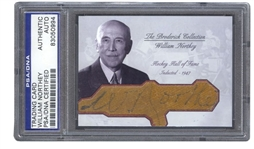 William Northey Autograph Hockey Hall of Fame D. 1963 – Broderick Collection