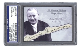Tommy Gorman Autograph Hockey Hall of Fame D. 1961 – Broderick Collection