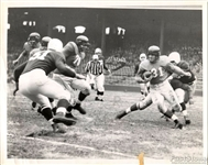 1952 NY Giants vs Chicago Cardinals NFL football Original TYPE I photo