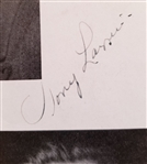 Tony Lazzeri Baseball HOF Signed Cut Autograph New York Yankees D. 1946