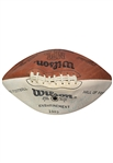 1983 Pro Football HOF Induction Signed Football – Nagurski – Blood McNally