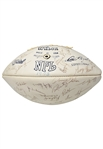 1973 Baltimore Colts Team Signed Football - Bert Jones Rookie