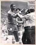 Julius Erving & Darryl Dawkins 1979 Basketball 76ers Argue with Refs Original TYPE I Photo