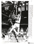 Larry Bird 1980 NBA Playoffs vs Sixers – Caldwell & Bobby Jones Original Photo