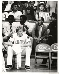 Larry Bird 1984 Original Photo Sitting on the Bench – MVP ?