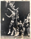 1967 1st Year ABA Basketball Dallas Chaparrals vs New Orleans Buccaneers Original TYPE I photo