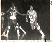 1968-69 ABA Basketball New Orleans Buccaneers  - Jimmy & Steve Jones Original TYPE I photo