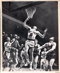 Wilt Chamberlain Original Press Photo vs. New York Knicks January 1961