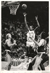 1986 Larry Bird & Kevin McHale vs. Cleveland Cavaliers Original TYPE I Photo