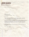 Jesse Owens Olympic Gold Medalist Legend Typed RARE Typed Letter Signed w/ Content