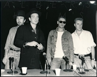 1987 Original Photo of Rock Music Legends – U2 – Bono – The Edge – Clayton – Mullen