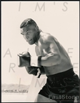 1989 Mike Tyson Original Type I photo in Fight Pose