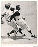 1970 Roberto Clemente Hustles & Loses Baseball Cap Original Photo