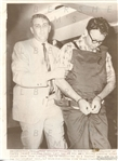 1968 James Earl Ray In Handcuffs After Killing Martin Luther King Jr Original Wire Photo