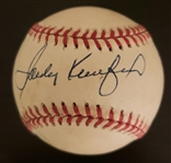 Sandy Koufax Single Signed AUTO NL Baseball (Coleman) Brooklyn L.A. Dodgers PSA/DNA