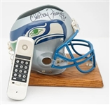 "Original 1995 Seattle Seahawks NFL Draft ""Helmet Phone"" Signed by Christian Fauria"
