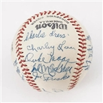 1956 Charleston Senators Team Signed Baseball w/ Duke Maas