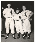 Nellie Nelson Fox & Don Lenhardt 1951 Chicago White Sox Signed 8x10 photo