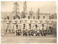 1934 Kansas City Monarchs Team Negro League Original Photo