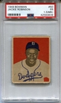 1949 Bowman #50 Jackie Robinson Brooklyn Dodgers RC Rookie HOF PSA 1.5