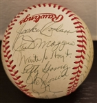 1983 Baseball Hall of Fame Multi-Signed All-Star Game Ball w/ Hank Greenberg PSA/DNA