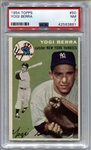 1954 Topps Yogi Berra New York Yankees HOF #50 PSA 7 NM