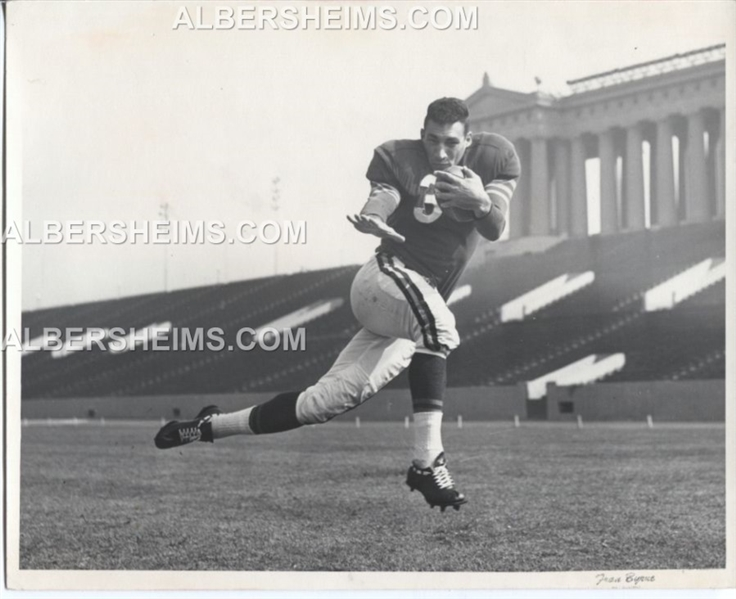 Rick Casares Chicago Bears TYPE I double weight 1950's Photo USC the best  image!!!