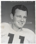Norm Van Brocklin 1952 Vic Stein Original Type I photo Rams Eagles Football HOF