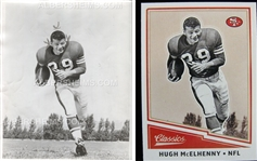 Hugh McElhenny Original 1958 Type I Photo – San Francisco 49ers HOF Used For Football Card