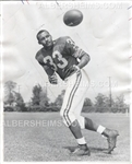Ollie Matson 1962 Original TYPE I Photo Los Angeles Rams Pro Football HOF