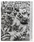 OJ Simpson Rookie Year UPI wire photo Vs. Miami Dolphins