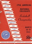 1955 NCAA Basketball National Championship Program San Francisco Beats LaSalle With Bill Russell