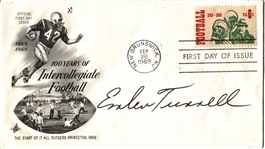 Emlen Tunnell signed 1969 Football FDC – Iowa – NY Giants Pro FB HOF D. 1975